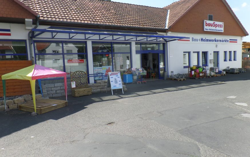 Baumarkt und Baustoffhandel in Spangenberg