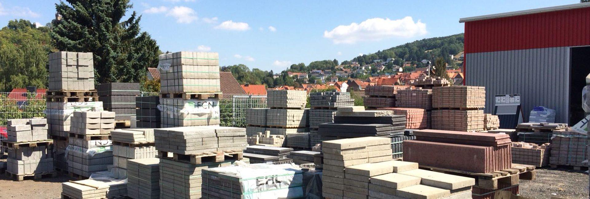 Rundgang durch den Baumarkt und Baustoffhandel in Spangenberg