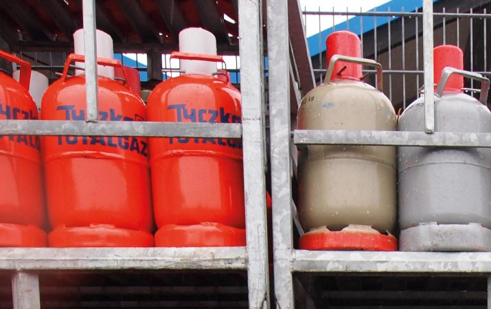 Gasflaschentausch - Propangas, Butangas