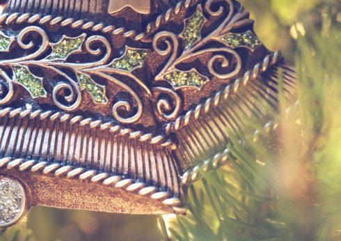 Weihnachtsdekoration aus Spangenberg